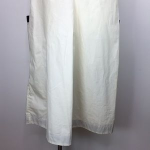 eshakti Dresses - Eshakti dress Ivory Black sleeveless sheath sz 1X
